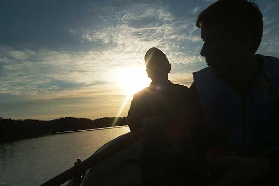 Visit Innherred Robåt på Skjellivatnet