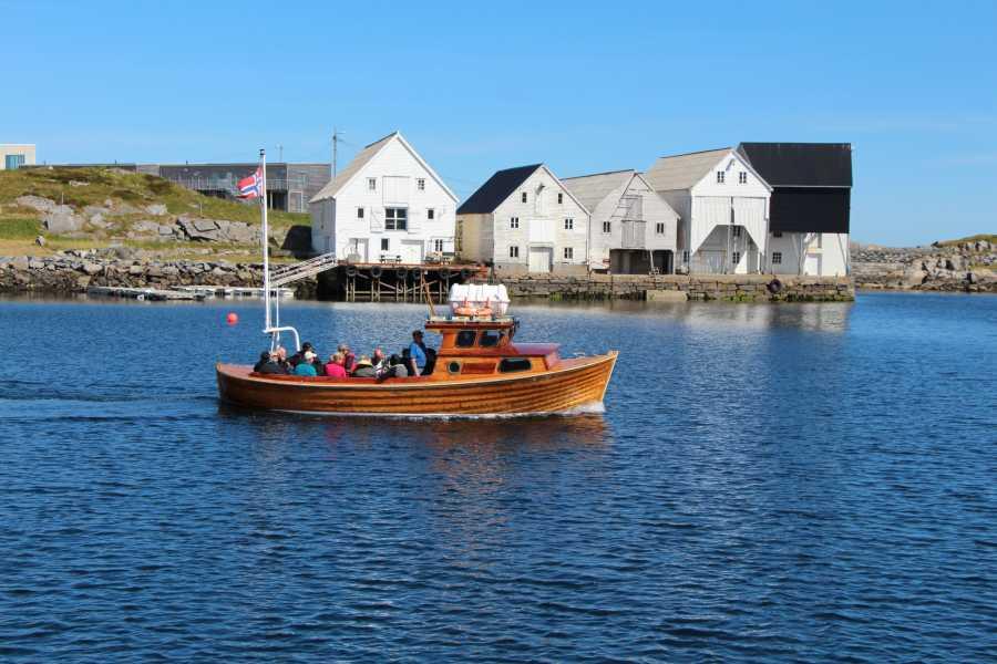 Opplev Runde AS // Hivens Båttur til fuglefjellet på Runde fra Runde Havn  med Rundø