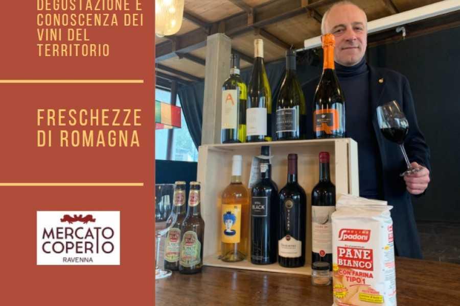 Ravenna Incoming Convention & Visitors Bureau LABORATORI DI DEGUSTAZIONE E CONOSCENZA DEI VINI DEL TERRITORIO Freschezze di Romagna