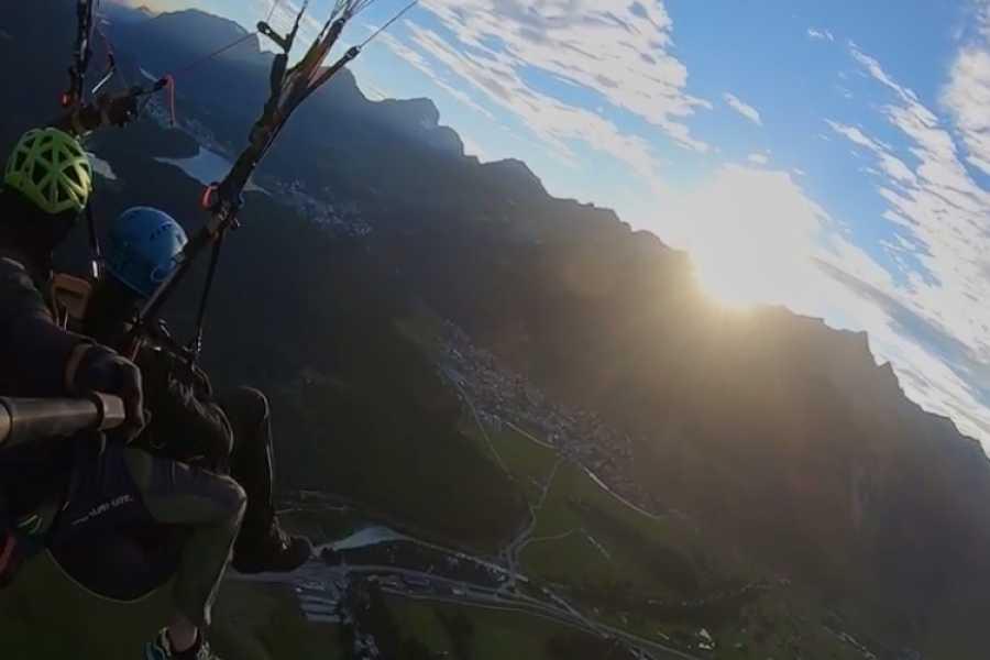 Paragliding Engadin GmbH Sunset Flight Muottas