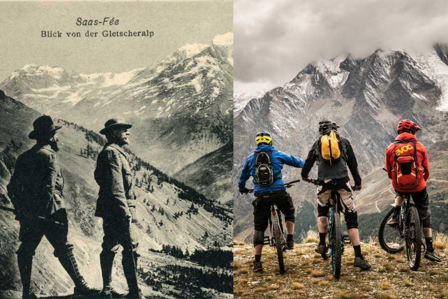 Saas-Fee Guides Program Tricouni & Bike Days
