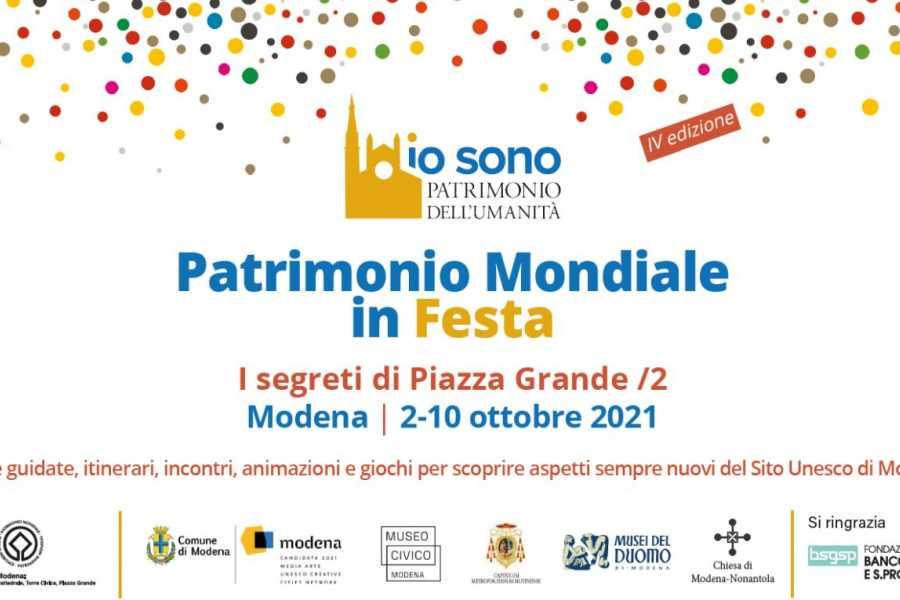 Modenatur UNESCO FEST - un sabato per approfondire