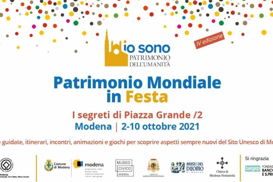 Modenatur UNESCO FEST - segreti e segrete di palazzo