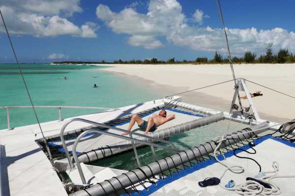 4 Hour Group Catamaran Sail and Snorkel Tour from Grace Bay