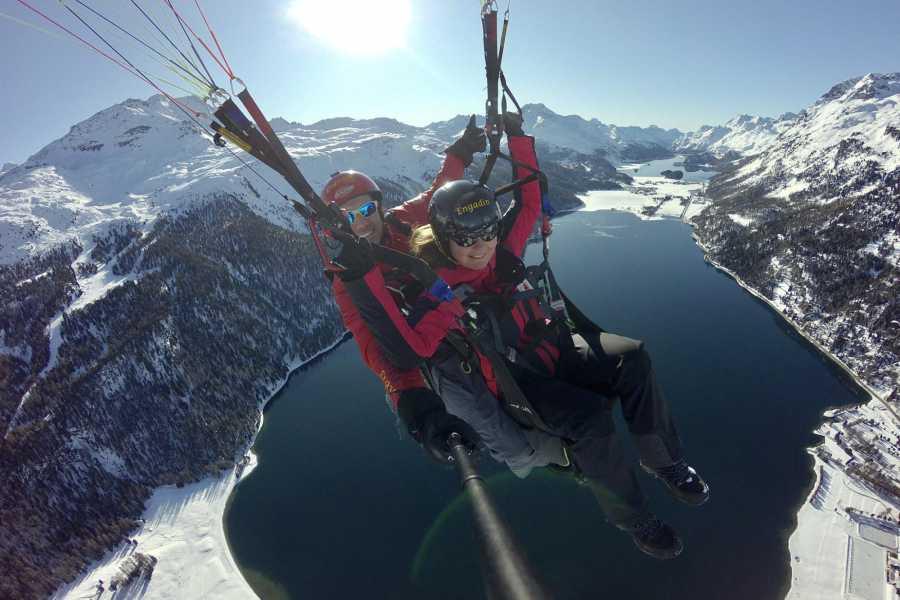 Paragliding Engadin GmbH Der Quickie