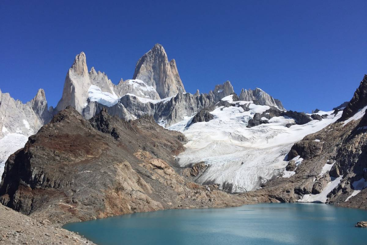 Patagonia Hikes Laguna de los Tres, Fitz Roy hike.