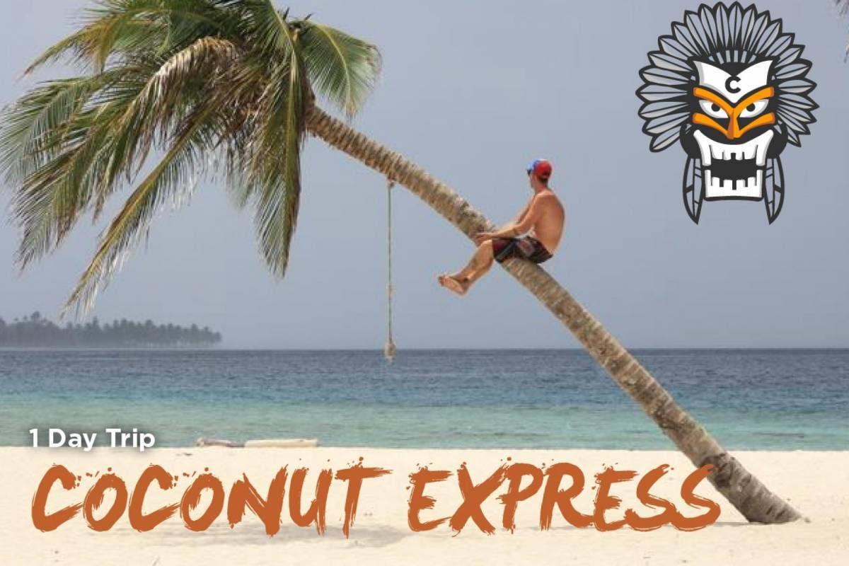 Cacique Cruiser Coconut Express Day Trip