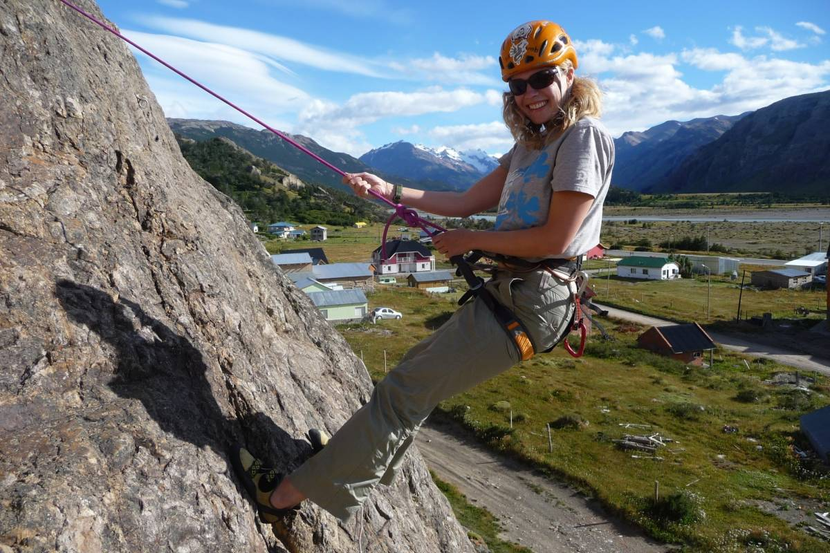 Patagonia Hikes Rock Climbing day