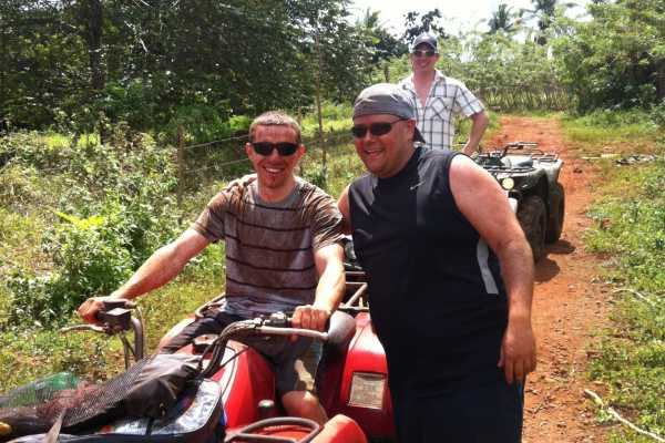 Tour Samana With Terry HOTEL EXCURSION #8: Famous Playa Rincon ATV Quads
