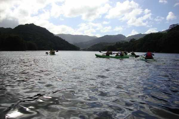 Mountain View Kayaking - Lake Dos Bocas - Utuado PR