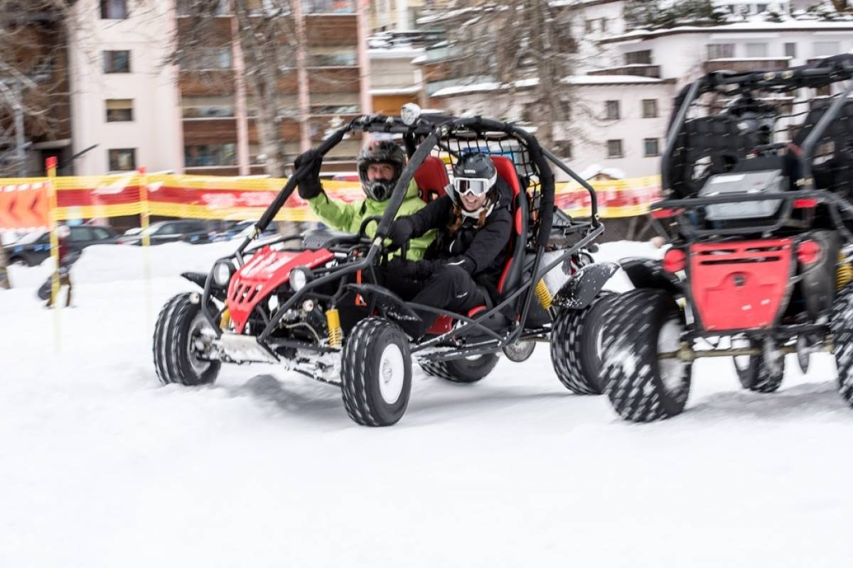 BuggyPark Reservation one Buggy for 25 minutes in Winter
