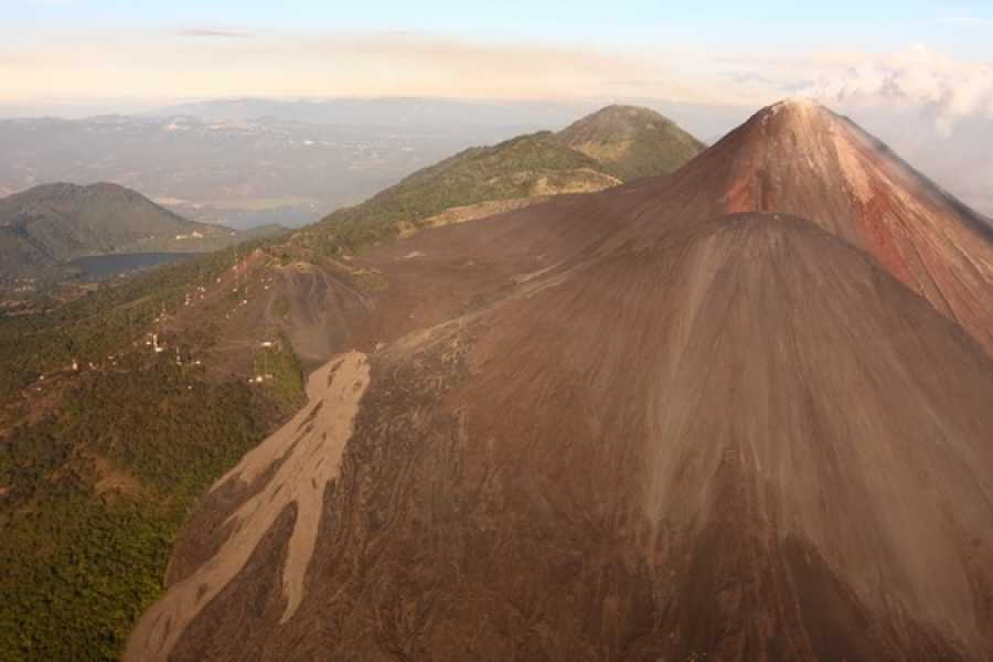 Maya World Tours Guatemala City and volcanoes Helicopter Tour