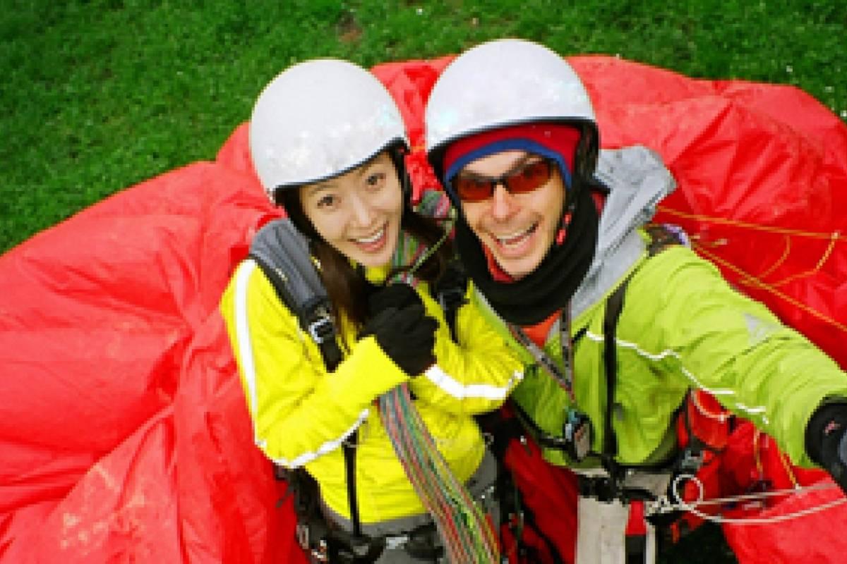 Star Paragliding, Switzerland Kim Hee Sun Picture Gallery