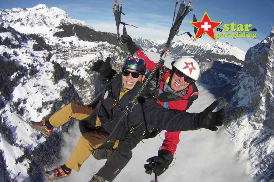Star Paragliding, Switzerland 5 - THE WALL STAR