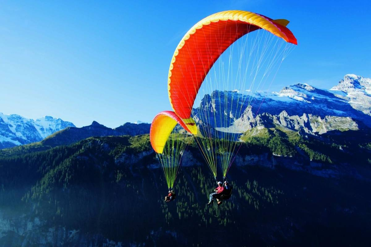 "Paragliding - Paragliding ""Big Blue"" Summer - Outdoor ..."