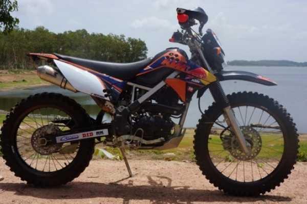1 full day riding KLX150