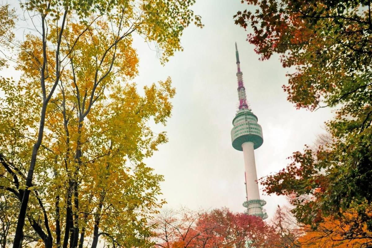 Kim's Travel 04 N Seoul Tower & Traditional Village Tour