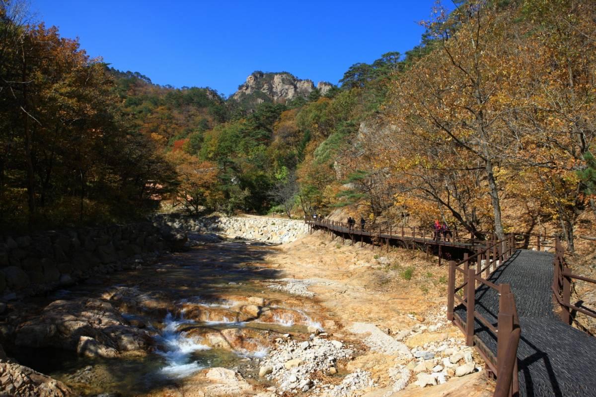 Kim's Travel 37 Visite du Mt. Seorak