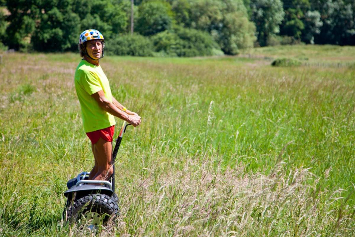 Andermatt Adventure - Crown of Alps AG Segway Tour