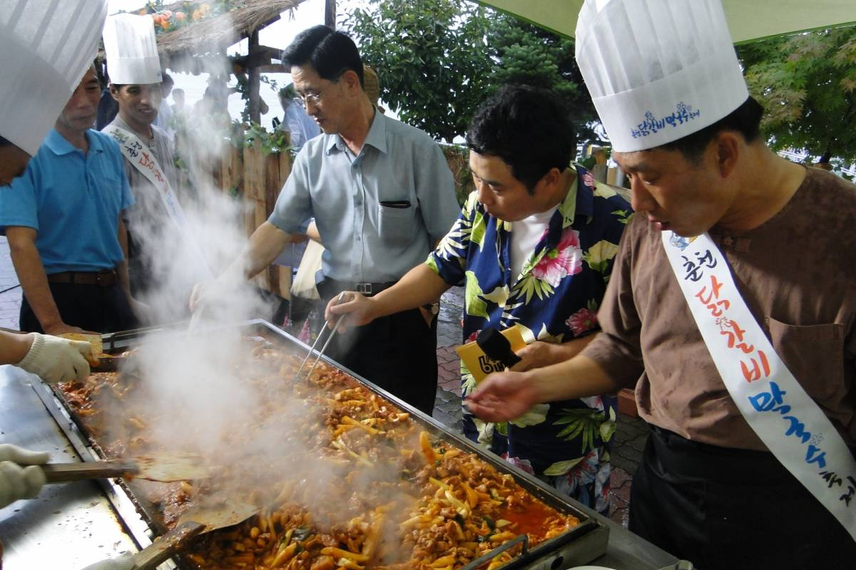 Kim's Travel Chuncheon Dakgalbi & Makguksu Festival