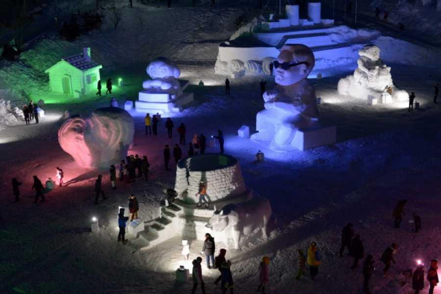 Kim's M & T Taebaeksan Mountain Snow Festival