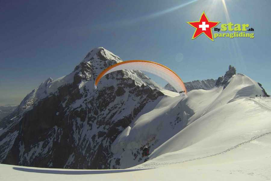 Star Paragliding, Switzerland 6 - THE STAR PARAGLIDING FLUGTAG