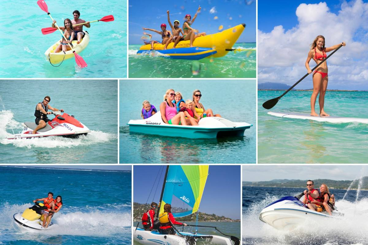 Aqua Mania Adventures WATERSPORTS - BANANA BOAT RIDES