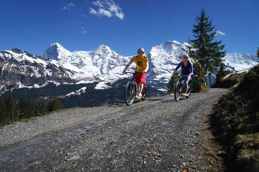 Outdoor Interlaken AG Descente en trottinette de montagne