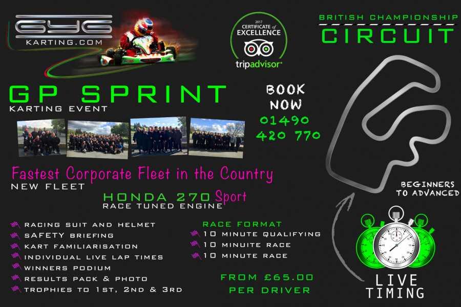 GYG Karting Ltd GP Sprint