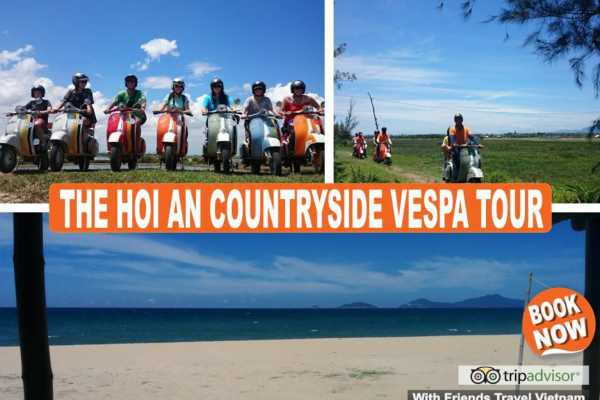 Friends Travel Vietnam The Hoi An Countryside Vespa Tour