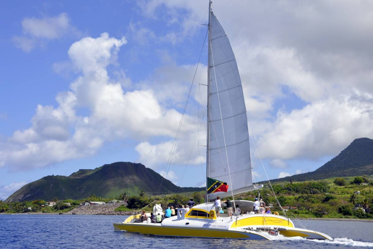 Blue Water Safaris Full Day  Sail to Nevis with Lunch