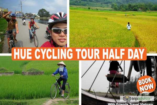 Friends Travel Vietnam Hue Cycling Tour Half Day