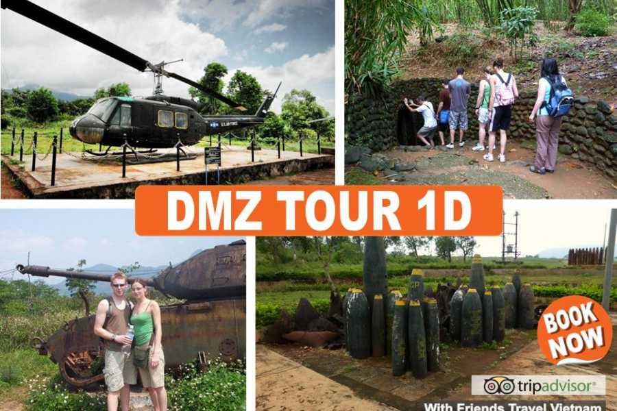 Friends Travel Vietnam Easy Rider DMZ Vinh Moc Tunnel  Tour 1D