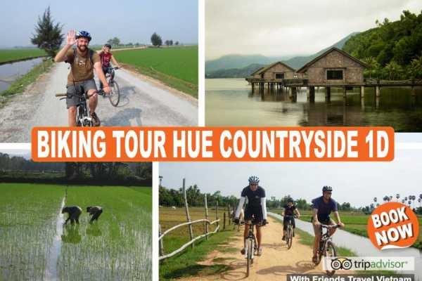 Friends Travel Vietnam Hue History & Culture Cycling Tour 1D