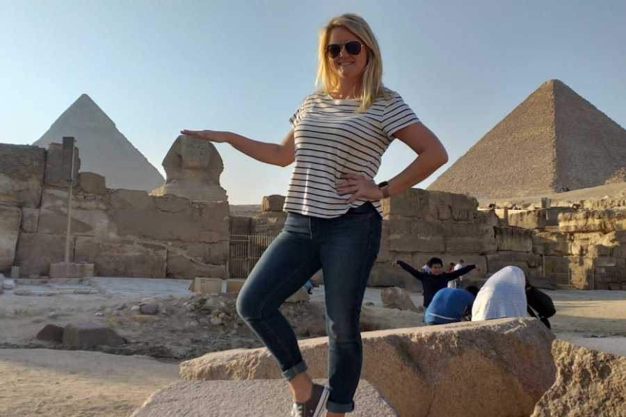 EMO TOURS EGYPT Day Tour to Giza Pyramids Memphis city Dahshur and Saqqara Pyramids