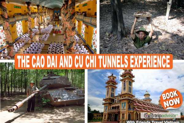 Friends Travel Vietnam The Cao Dai and Cu Chi Tunnels Experience