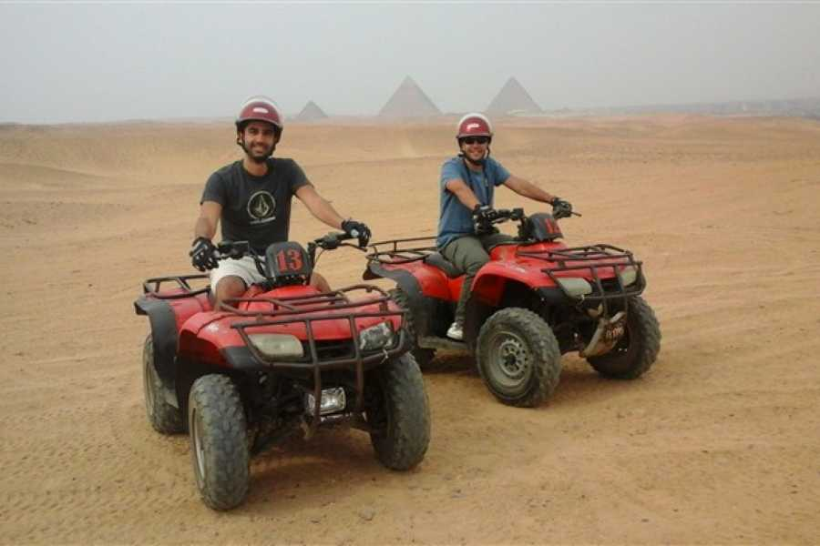 EMO TOURS EGYPT Quad Bike trip at Giza Pyramids
