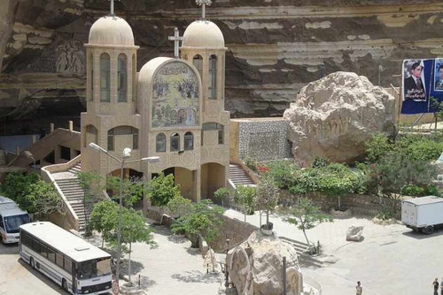 EMO TOURS EGYPT Unusual day tour visit to cave church & Garbage City in Cairo