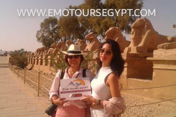 EMO TOURS EGYPT DIE BESTEN LUXOR TAGESTOUR BESUCH OST UND WEST-NIL-BANKEN