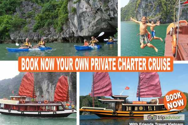 Friends Travel Vietnam The Real Halong Bay Private Cruise Experience 2D1N
