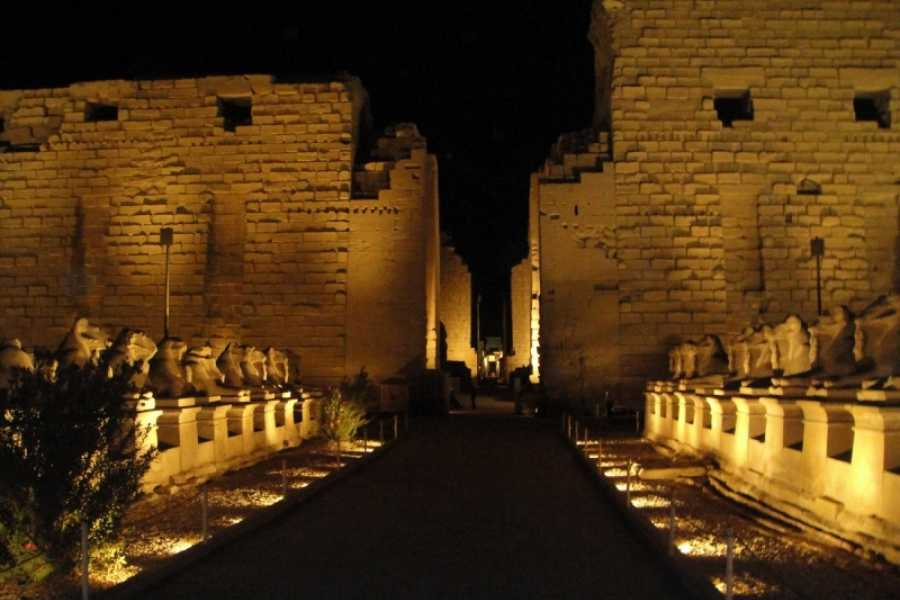 EMO TOURS EGYPT Sound and Light show at Karnak Temple in Luxor