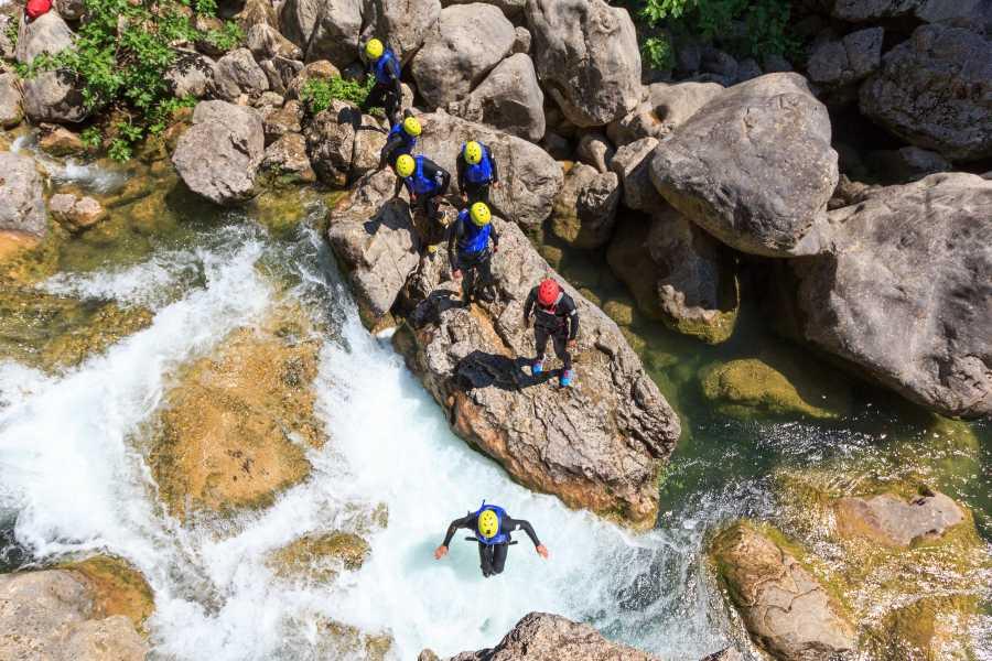 Iris Adventures Croatia Basic Canyoning Tour