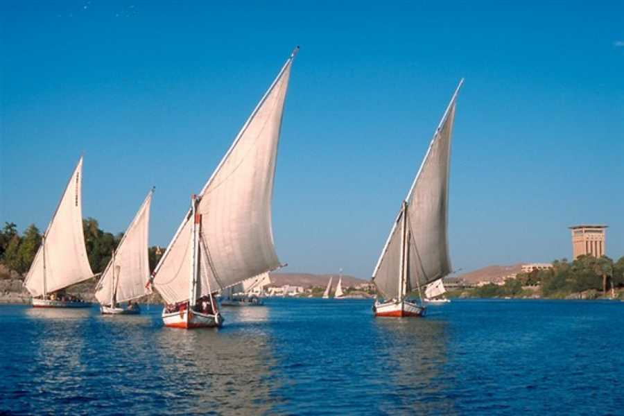 EMO TOURS EGYPT Felucca Nile trip in Aswan