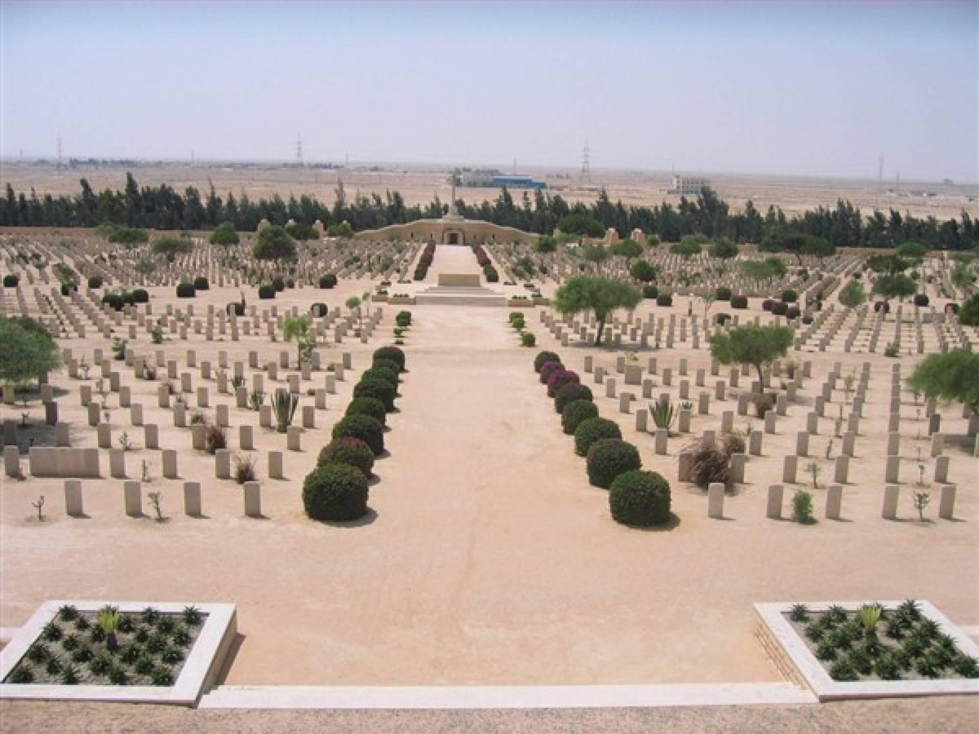 Mengunjungi El Alamein Monumen Sejarah PD II
