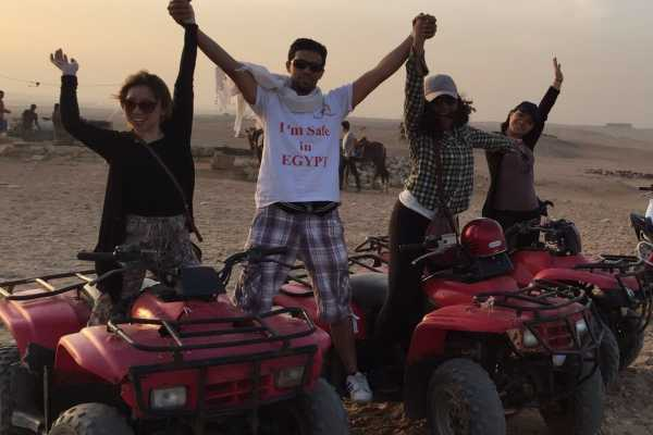 EMO TOURS EGYPT Safari en Quad Bike en el desierto de Sharm