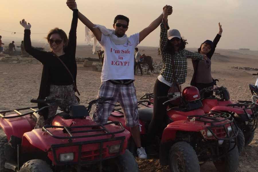EMO TOURS EGYPT 沙姆沙伊赫沙漠徒步旅行由四轮自行车