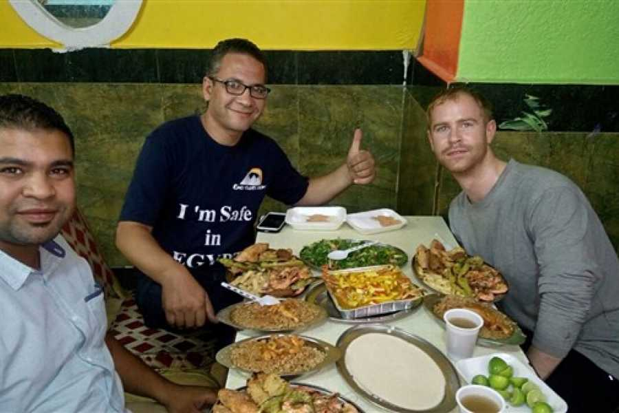 EMO TOURS EGYPT Food tour in Cairo for lunch or dinner at real Egyptian house