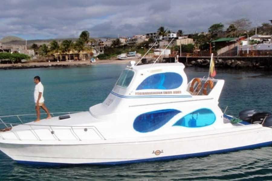 Galapagos Shuttle LLC San Cristobal to Santa Cruz   Sea shuttle - 3PM