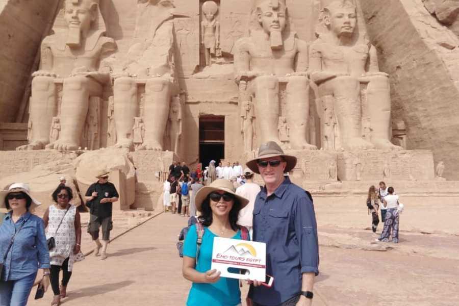EMO TOURS EGYPT ДЕНЬ ТУР В АБУ-Симбел каирского через Асван