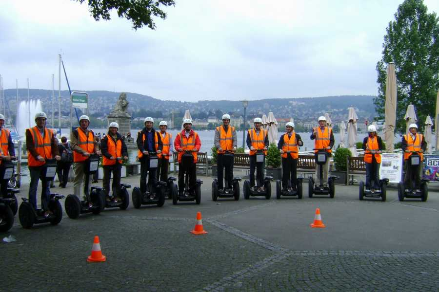Segway City Tours by HB-Adventure Segway City Tour Zürich Gold (privat geführte Tour)